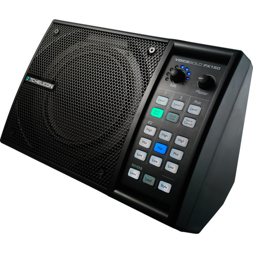 TC Electronic TC Helicon Voicesolo FX150 EU, Multipurpose Vocal Monitor, Personal Pa And Instrument Amplifier
