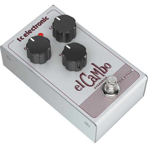 TC Electronic Tube Overdrive Pedal with 3-Knob Interface