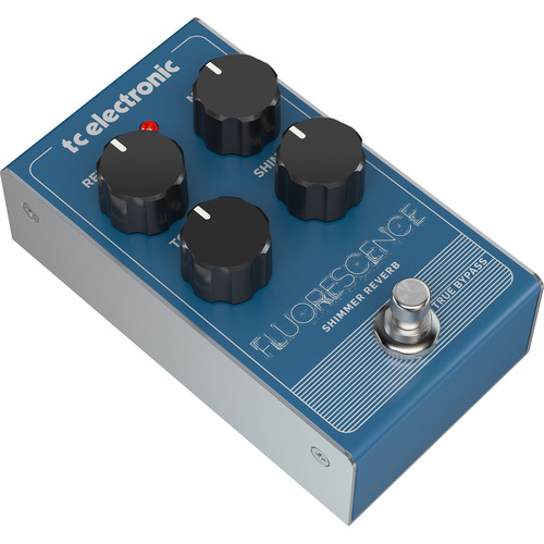 TC Electronic FLUORESCENCE Shimmer Reverb Pedal for Electric Guitars
