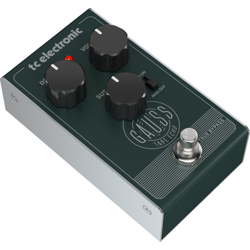 TC Electronic GAUSS Tape Echo Pedal for Electric Guitars