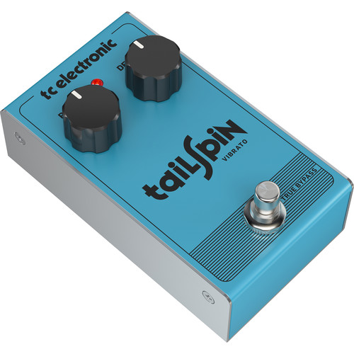 TC Electronic TAILSPIN Vibrato Pedal for Electric Guitar