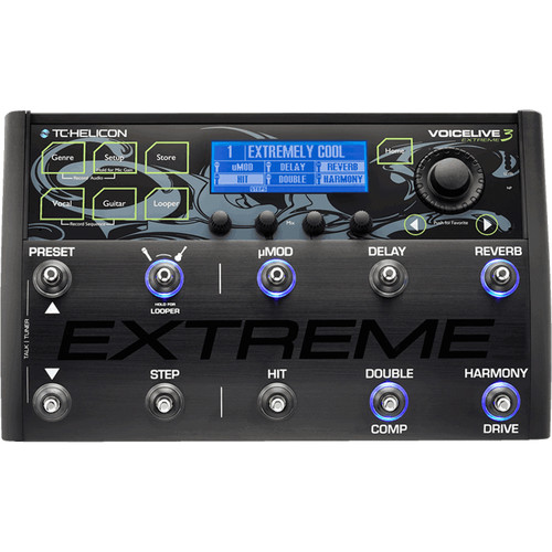 tc helicon voicelive 3 extreme guitar vocal effects 996354105. Black Bedroom Furniture Sets. Home Design Ideas