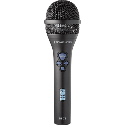TC-Helicon MP-76 Live Cardioid Microphone with FX Control