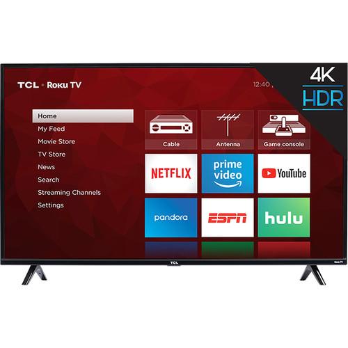 """TCL S425 43"""" Class HDR 4K UHD Smart LED TV"""