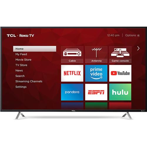 """TCL S405 49"""" Class HDR 4K UHD Smart LED TV"""