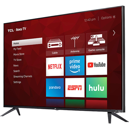 "TCL 6-Series R617 65"" Class HDR 4K UHD Smart LED TV"