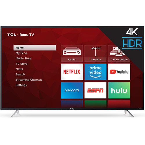 """TCL S405 65"""" Class HDR 4K UHD Smart LED TV"""