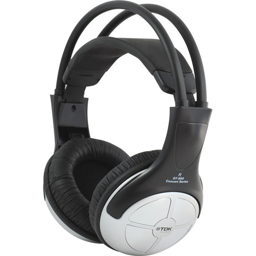 TDK Life on Record ST-550 Stereo Over-Ear Headphones