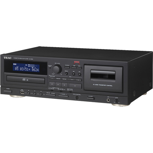 Teac AD-850 CD Player and Cassette Deck