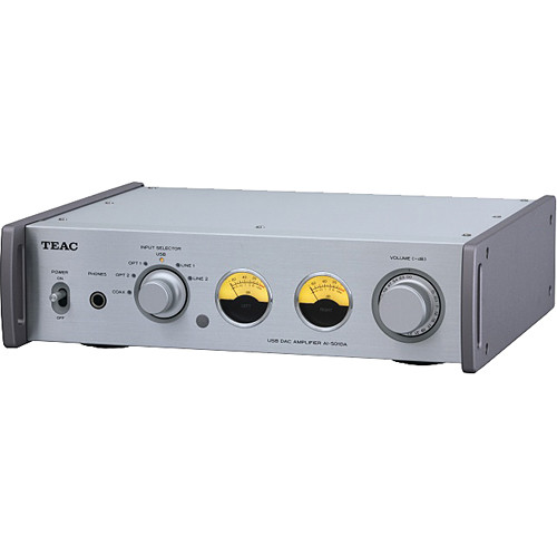 Teac AI-501DA-S Integrated Amplifier with USB Streaming (Silver)