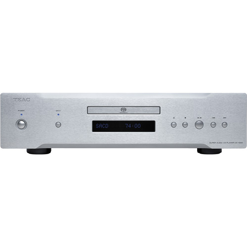 Teac CD-1000-S Distinction Series CD/SACD Player (Silver)