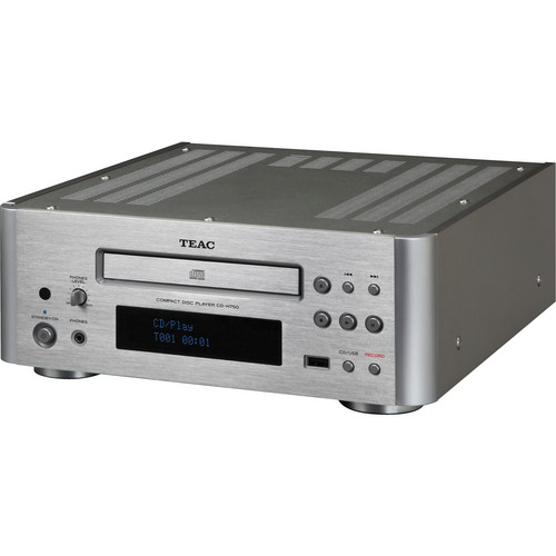 Teac CD-H750 Compact Disc Player (Silver)