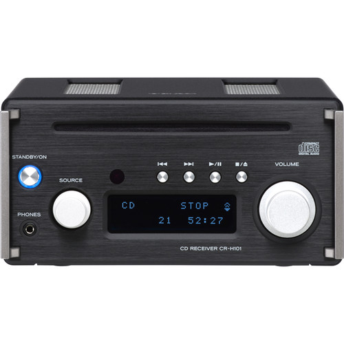 Teac High-Resolution CD Receiver with FM Tuner (Black)