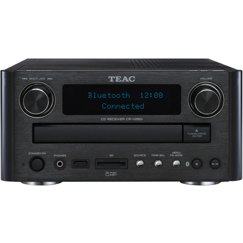 Teac CR-H260i CD/SD Receiver with Bluetooth