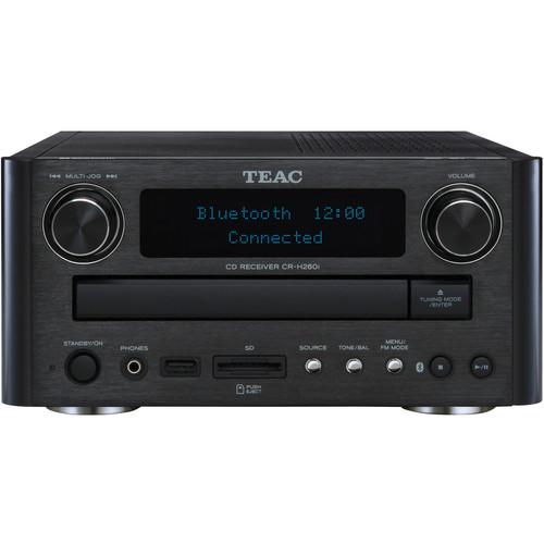 Teac CR-H260IB CD/SD Receiver with Bluetooth (Black)