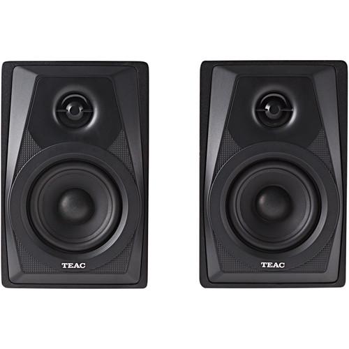 Teac LS-M100-B 2-Way Powered Monitor Speakers (Pair)