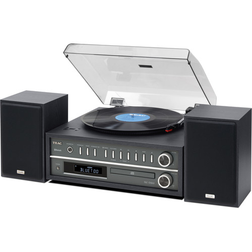 Teac MC-D800 Stereo Turntable System (Black)