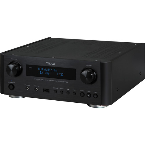 Teac NP-H750-B USB DAC / Network Player Integrated Amplifier (Black)