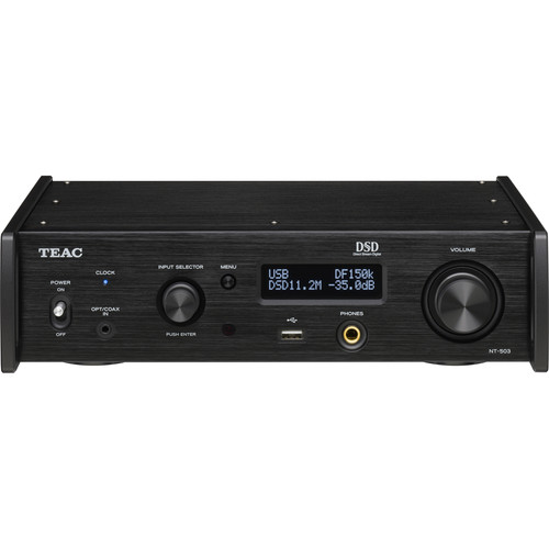 Teac NT-503 Dual-Monaural USB DAC and Network Player (Black)
