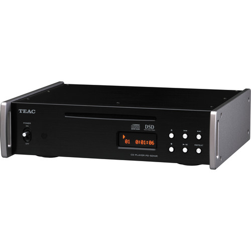 Teac PD-501HR-B DSD/PCM/CD Player (Black)