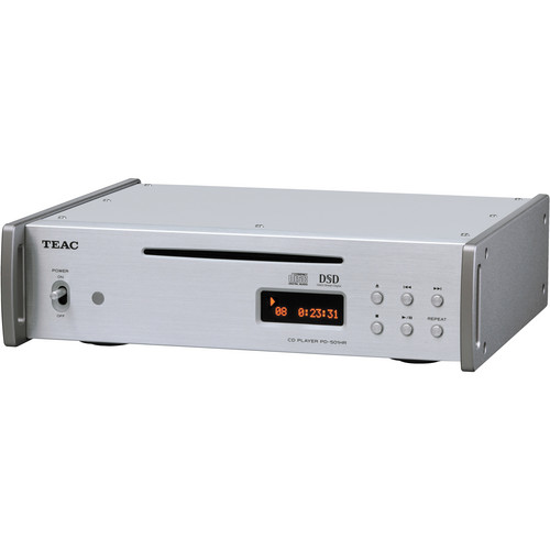 Teac PD-501HR-S DSD/PCM/CD Player (Silver)