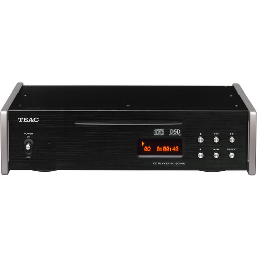 Teac CD Player with 5.6MHz DSD Playback (Black)