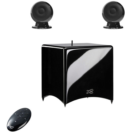 Teac Cabasse Stream 3 Network and Bluetooth Audio System (Glossy Black)