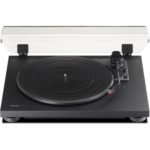 Teac TN-100 Belt-Drive Turntable with Preamp and USB (Flat Black)
