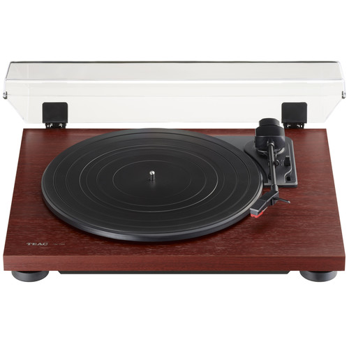 Teac TN-100 Belt-Drive Stereo Turntable with Preamp and USB (Cherry)