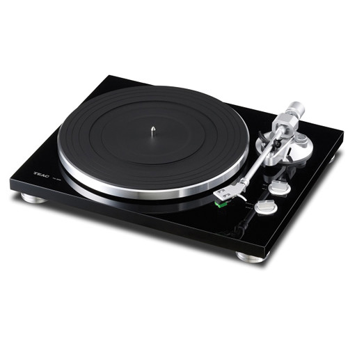 Teac TN-300 Turntable with Phono EQ and USB (Black)