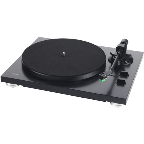 Teac TN-300SE Stereo Turntable with USB (Matte Black)
