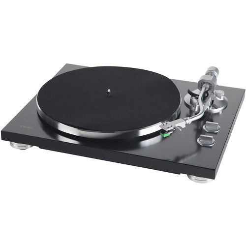 Teac TN-350 Stereo Turntable with USB (Satin Black)