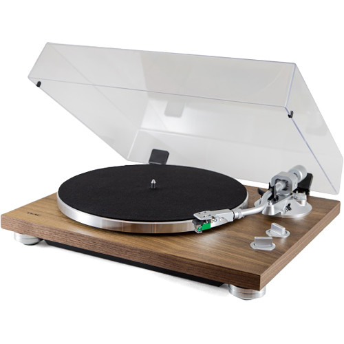 Teac TN-400S Belt-Drive Turntable with Phono Amplifier and USB (Walnut, Audio-Technica AT100E Cartridge)