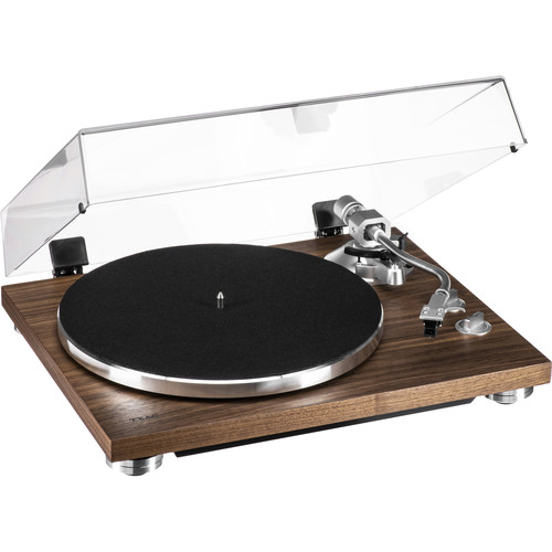 Teac TN-400SO Belt-Drive Turntable with Phono Amplifier and USB (Walnut, Sumiko Oyster Cartridge)