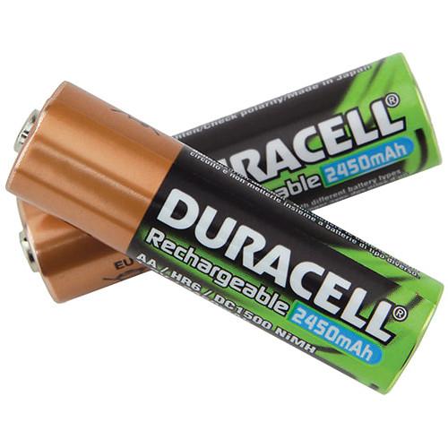 TeachLogic AA NiMH Rechargeable Batteries (2,450mAh, 2 Pack)