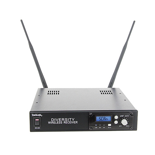 TeachLogic DR-801 AirLink 96-Channel Standalone Receiver (640-664 MHz)