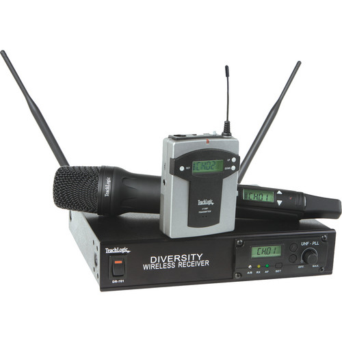 TeachLogic HH-960 UHF 96-Channel AirLink Wireless Handheld Microphone System
