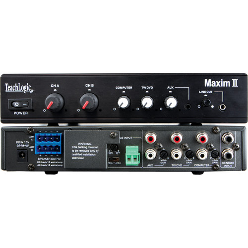 TeachLogic IMA-420 Maxim II Amplifier / Receiver Base Station with Switching Power Supply