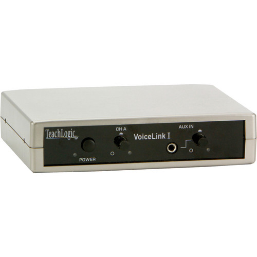 TeachLogic IR-100 VoiceLink I 1-Channel Infrared Receiver with Power Supply