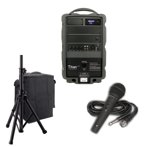 TeachLogic PA-807 Titan-Neo Basic Bluetooth Receiver Bundle