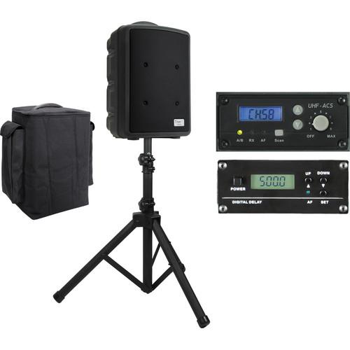 TeachLogic PA-815 Titan-Neo AC/Battery-Powered Companion Speaker Package