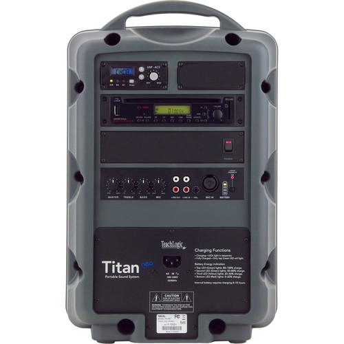 TeachLogic PA-850 Titan Neo Sound System with Wireless Bodypack and Headband Microphone