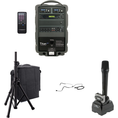 TeachLogic PA-875 Combo Titan Neo Sound System with Headband Microphone