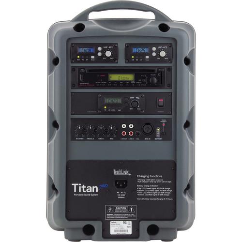 TeachLogic PA-890 Combo Titan Neo Sound System with Headband Microphone