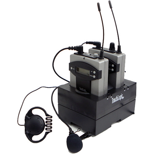 TeachLogic PS-960 LAP AirLink UHF 96-Channel Wireless Personal FM System with LM-835 Lapel Microphone