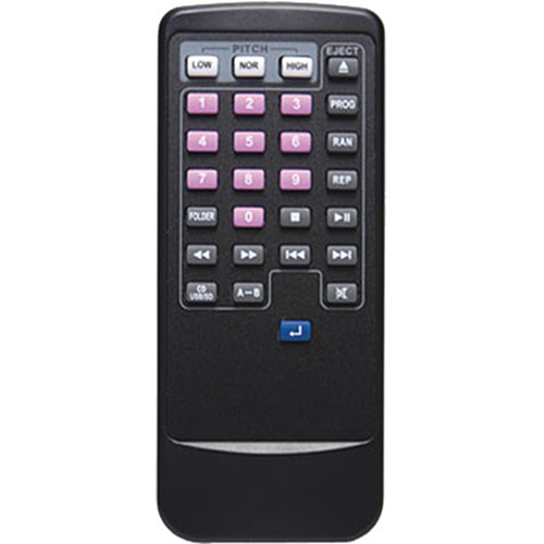 TeachLogic RC-350 Replacement Remote Control for MP3-750/R Player