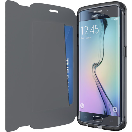 Tech21 Evo Frame Wallet Case for Galaxy S6 Edge (Black)