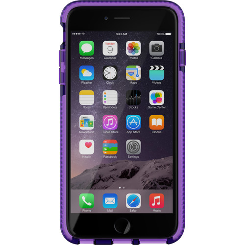 Tech21 Evo Mesh Case for iPhone 6 Plus (Purple/White)