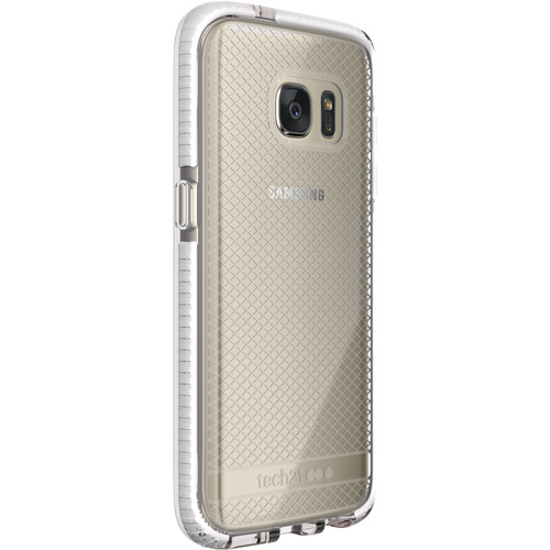 Tech21 Evo Check Case for Galaxy S7 (Clear/White)
