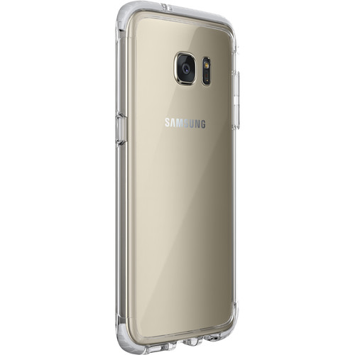 Tech21 Evo Frame Case for Galaxy S7 edge (Clear/White)